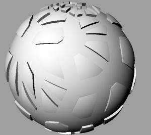 crack sphere