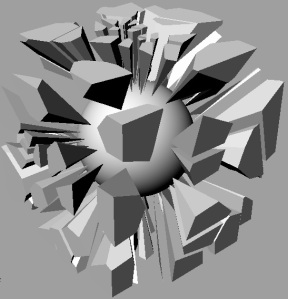 exploded voronoi